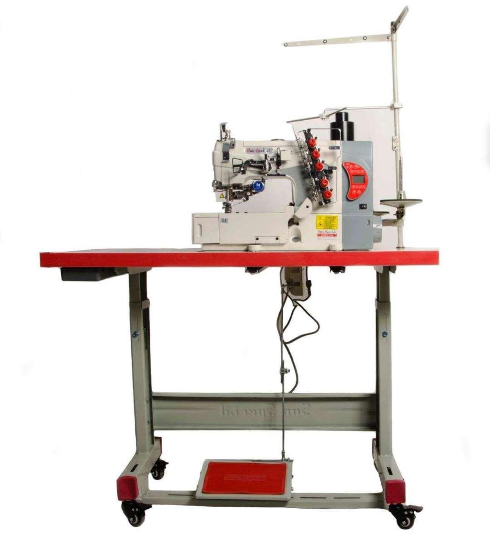 Máquina Costura Indl Galoneira Plana Eletrônica Control Box  SS5-01-CBDE-UT-ST-SH-QI Sun Special