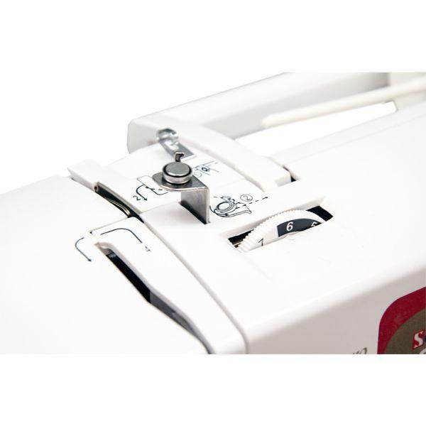 Máquina Costura E Bordado Doméstica Ss-1300 Bivolt Eletrônica Branca - Sun Special