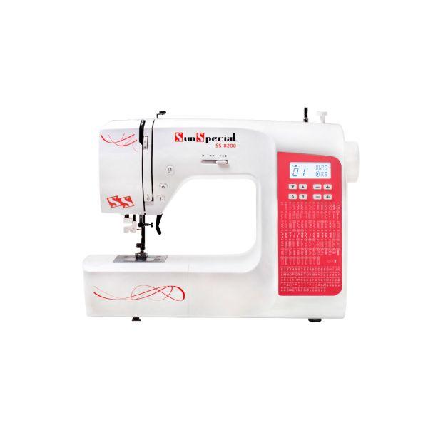 Máquina Costura Doméstica Ss-8200 Eletrônica - Sun Special