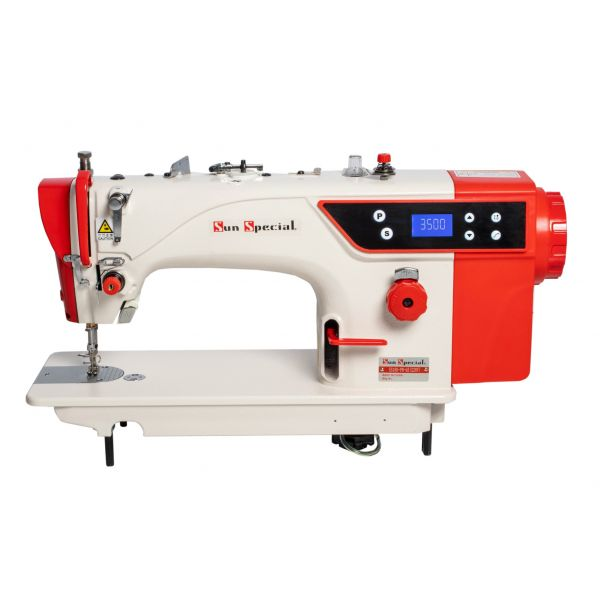 Máquina Costura Industrial Reta Direct Drive 550w 5000ppm SS18D-PR-QI - Sun Special