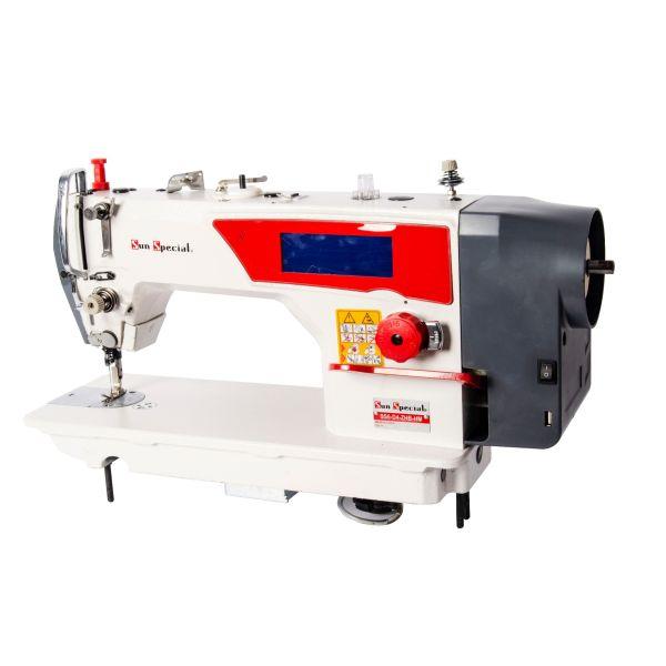Máquina Costura Industrial Reta Eletrônica Painel Touch Screen SS6-D4-ZHB-HM - Sun Special