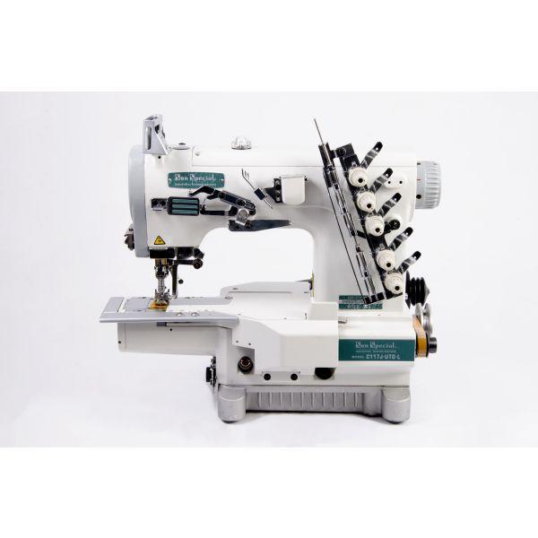 Máquina Costura Industrial Galoneira Eletrônica Cilíndrica SSC117UTGL Sun Special
