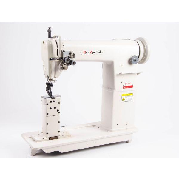 Máquina Costura Industrial Coluna 2 Agulhas SS820 Sun Special
