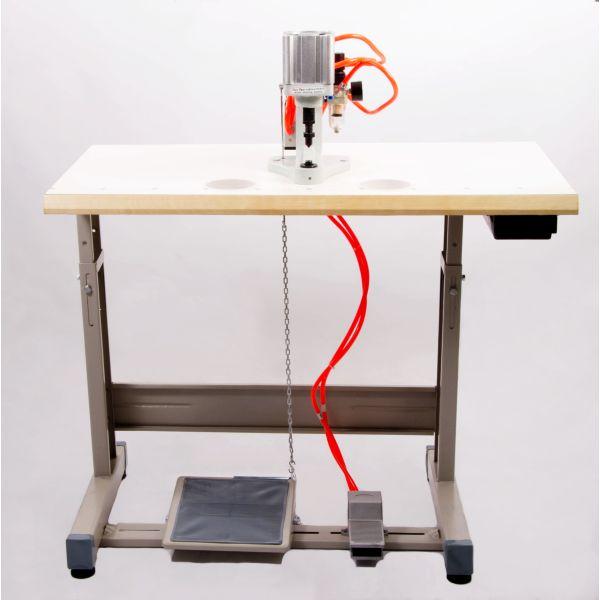 Máquina Pregar Botão Ilhós Eletrônica SSQ1 Sun Special