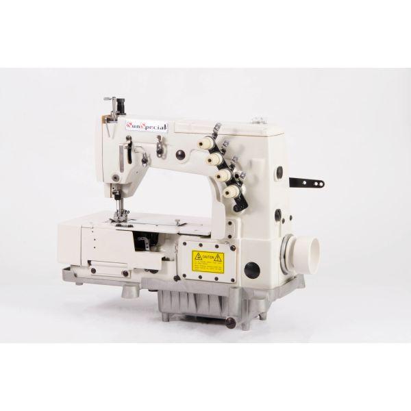 Máquina Costura Industrial Ponto Decorativo PicuetaSST6302W-GW Sun Special