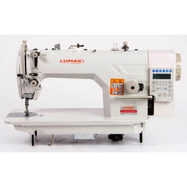 Máquina Costura Reta Eletrônica Direct Drive Completa 220v LU8900-D4-ZHB-HM Lumak