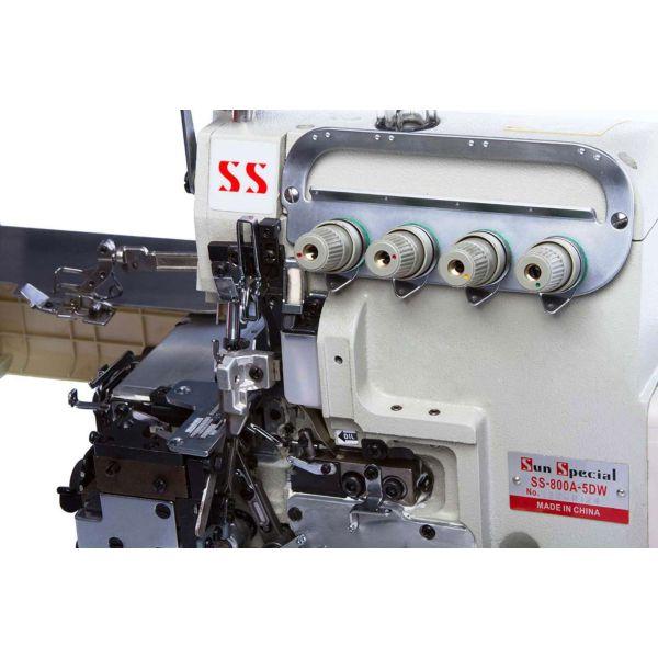 Máquina Costura Industrial Interlock Motor Direct Drive SS-800A-5DW Sun Special
