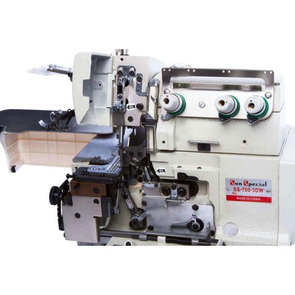 Máquina Costura Industrial Overlock Motor Direct Drive SS-700-3DW Sun Special
