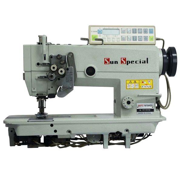 Máquina Costura Industrial Pespontadeira Alternada Eletrônica SSTC-7975HD3Sun Special