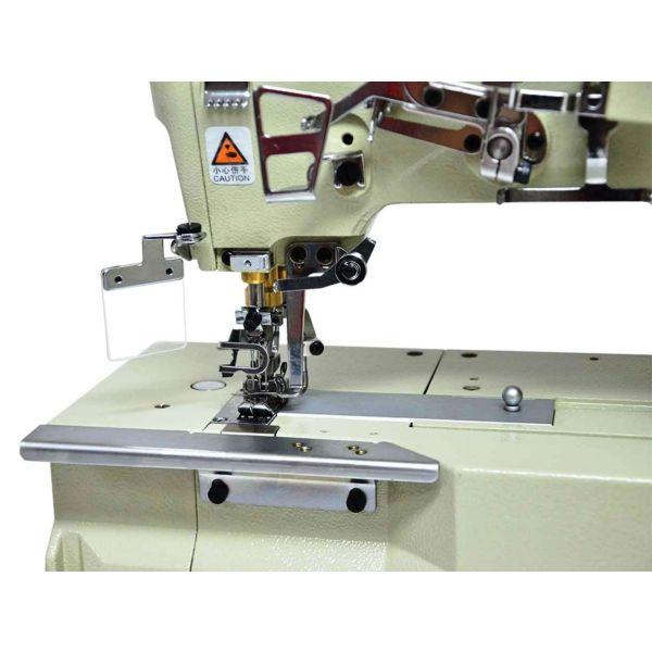 Máquina Costura Industrial Galoneira Plana Aberta e Fechada 3 Agulhas Bivolt SS-31016-01CB-D-NPW Sun Special