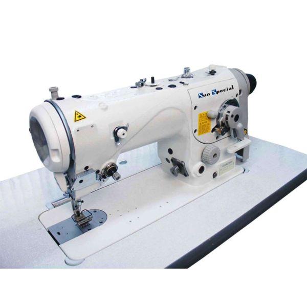 Máquina Costura Industrial Zig Zag Lubrificação Automática 2 ou 3 pontos SS3384N Sun Special