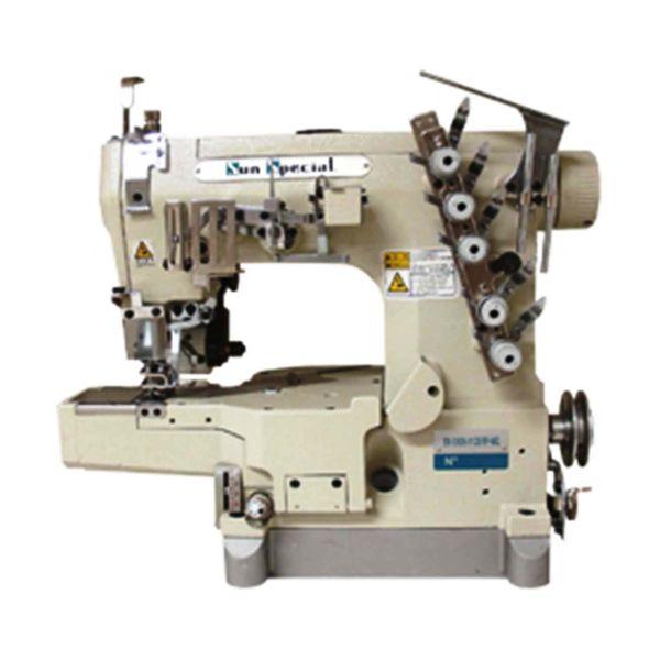 Máquina Costura Industrial Galoneira Cilíndrica Catraca SS3202601CBRPMQ Sun Special