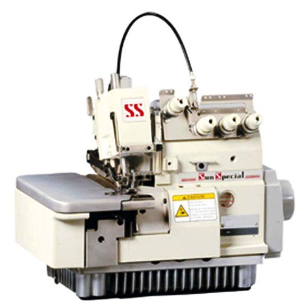 Máquina Costura Industrial Overlock Embutidor CorrentinhaSSTC31003C Sun Special