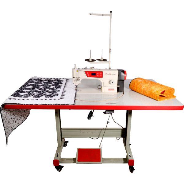 Bancada Tampo Base Giratória Quilt Costura Reta Industrial - Sun Special
