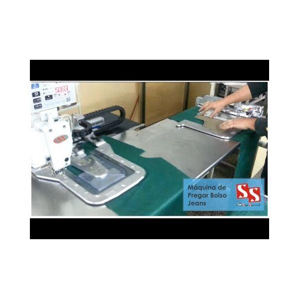 Máquina Costura Bolso Automática para Jeans com Dobra a Frio SS-168HH Sun Special