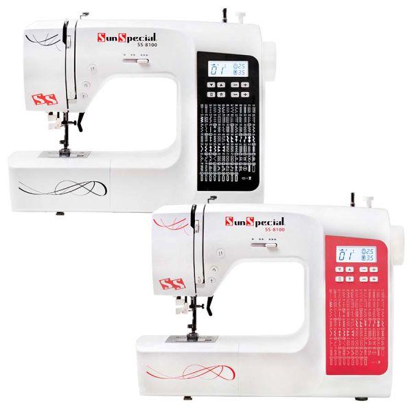 Máquina Costura Doméstica Ss-8100 Eletrônica - Sun Special