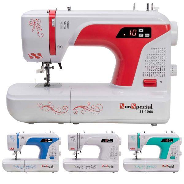 Máquina Costura Doméstica SS-1060 Eletrônica - Sun Special