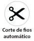 Máquina de Costura Industrial Travete Eletrônico Corte Automático Fios