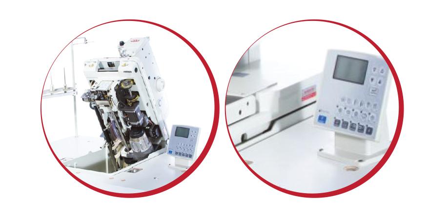 Máquina de Costura Industrial Caseadeira de Olho Eletrônica