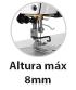 Máquina Costura Industrial Reta Calcador 8mm