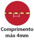Máquina Costura Industrial Reta Altura Ponto 4mm
