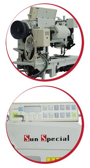 Máquina de Costura Industrial  Pespontadeira Alternada Eletrônica