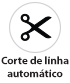 Máquina de Costura Industrial  Pespontadeira Alternada Eletrônica Corte de linha automático